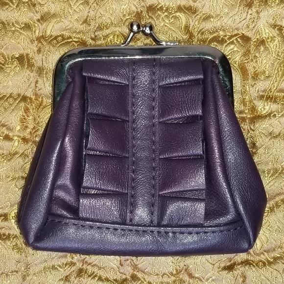 Miche Handbags - Miche Karie Coin Purse, Purple Ruffle Wallet